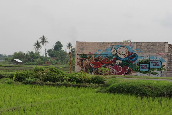 Festival Geneng Street Art Project #3: Gemah Ripah Loh Jinawi