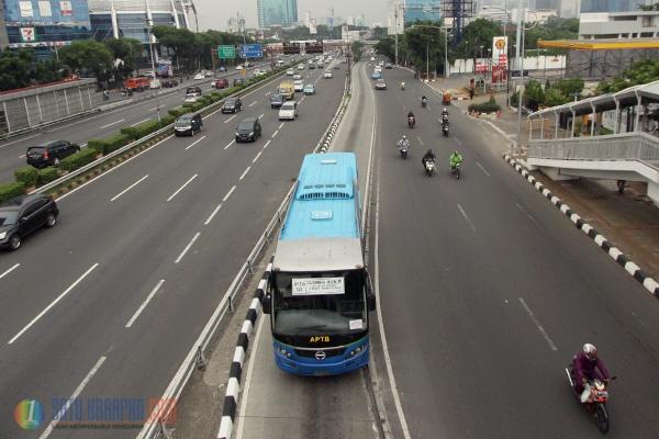APTB Direncanakan Gabung Transjakarta Juni Mendatang