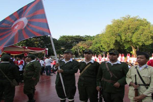 Ada Tentara Jepang di Tugu Proklamasi