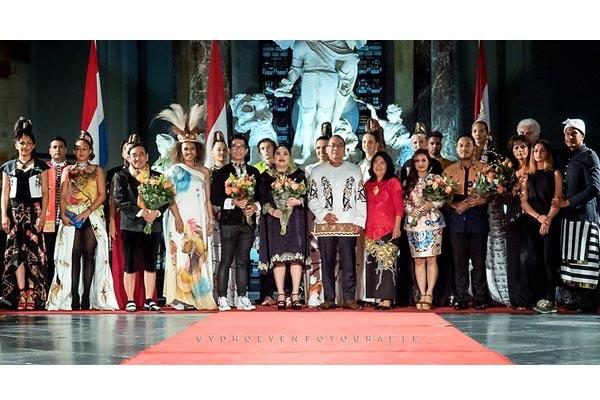 Batik Papua Diperkenalkan ke Dunia Internasional