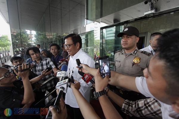 Mantan Anggota DPR Jafar Hafsah Diperiksa KPK soal E-KTP
