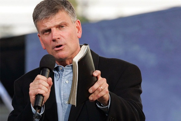 Penginjil dari Billy Graham Evangelistic Association, Franklin Graham. (Foto: gospelherald.com)
