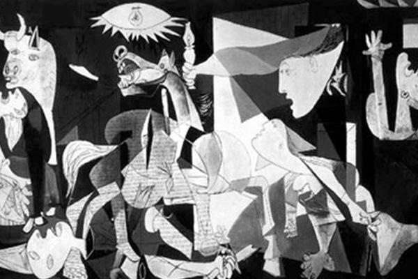 Satu harapan ditemukan karya seni yang dicuri nazi for Mural guernica
