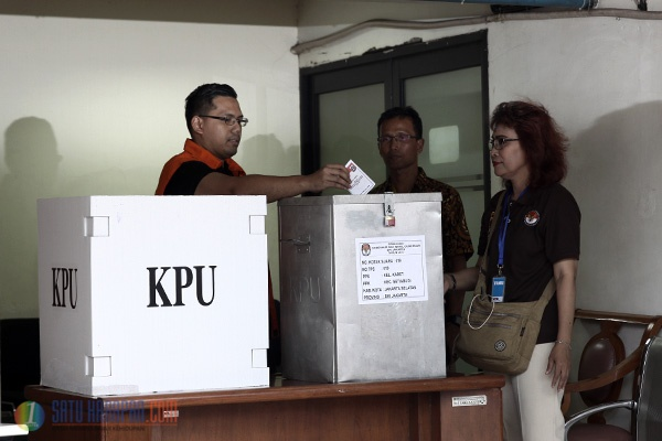 7 Tersangka Korupsi Nyoblos di Rumah Tahanan KPK