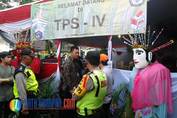 Ahok-Djarot Menang di TPS Tempat Jokowi Mencoblos