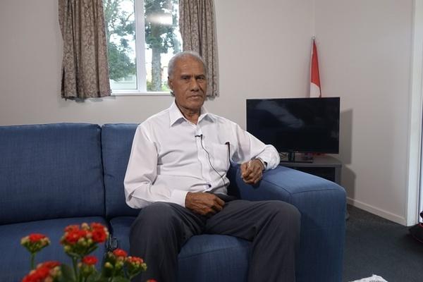 Perdana Menteri Tonga, 'Akilisi Pohiva. (Foto: Alex Perrottet/RNZ)
