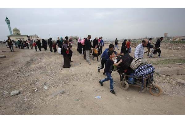 ISIS Serang Pasukan Irak dengan Senjata Kimia
