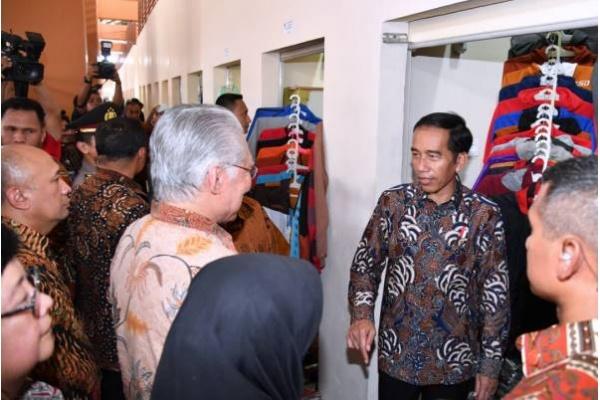 Presiden Jokowi Ingin Pasar Klewer Seperti Mal