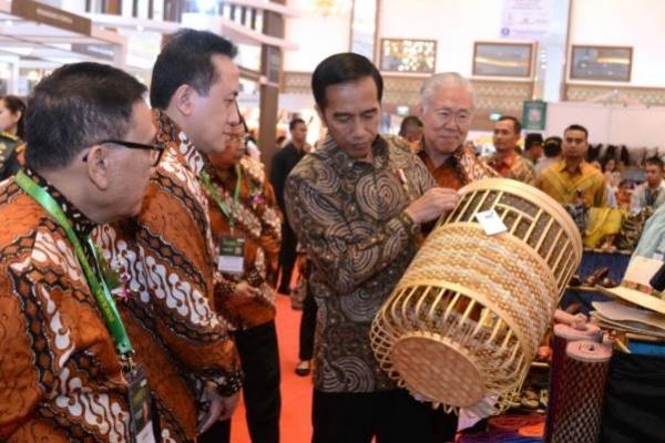 Jokowi Yakin Industri Kreatif Jadi Masa Depan Indonesia