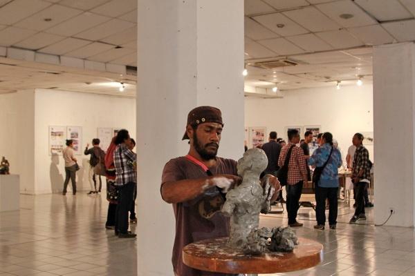"""ISI Yogyakarta Gelar Pameran Seni Rupa """"Gerak Kebhinekaan"""""""