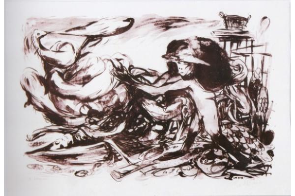"Sri Maryanto Gelar Pameran Seni Grafis Lithografi ""Sungai"""