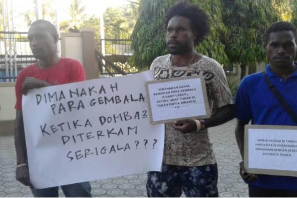 Umat Katolik Papua Kecam Uskup Membisu Saat OAP Dibantai