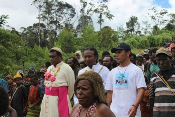 Uskup di Papua Canangkan Gerakan Stop Jual Tanah