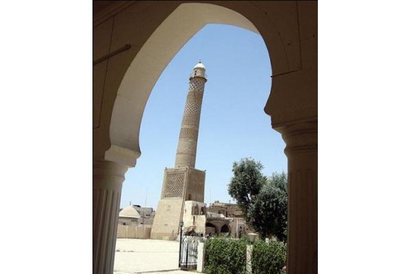 Masjid Tempat Deklarasi Kekhalifahan ISIS Kini Hancur