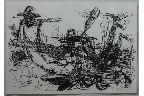 """Milah-Milih"" Coretan Sri Maryanto di Atas Kanvas"