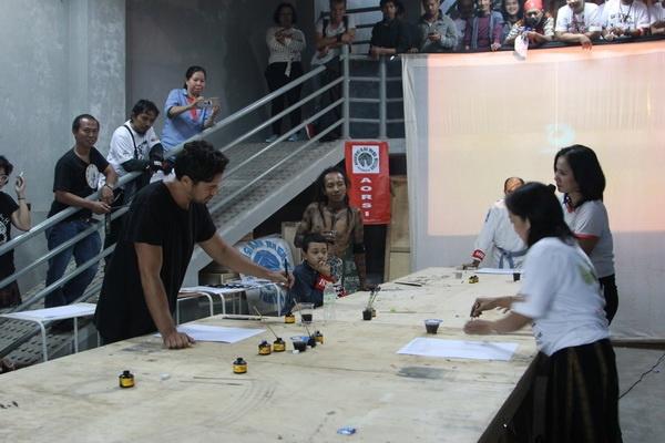 Kejuaraan Sketsa Cepat: Persilangan Seni dan Olahraga