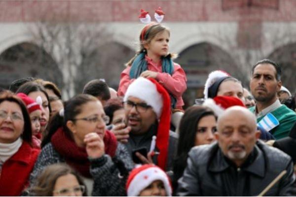 Perayaan Natal di Bethlehem