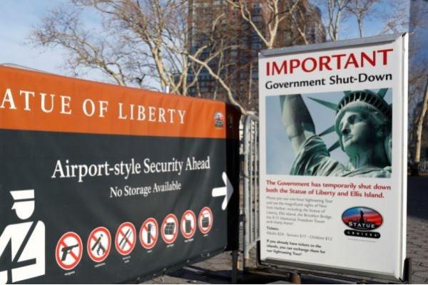 Kawasan Patung Liberty Ditutup Sementara