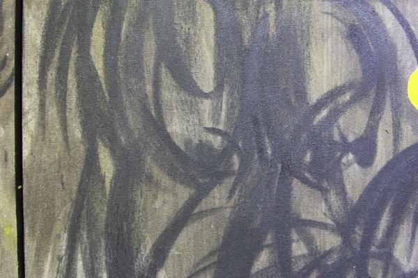 "Lukisan Arang dalam ""Dodombleng Anak Celeng"""