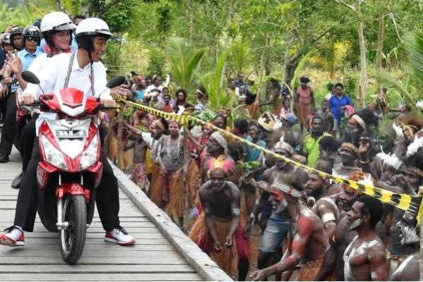 Presiden Jokowi Ajak Remaja Papua Jauhi Narkoba-Kekerasan