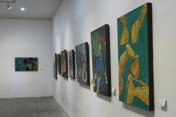 """Pameran Lukisan """"Segi"""" di Galeri R.J. Katamsi"""