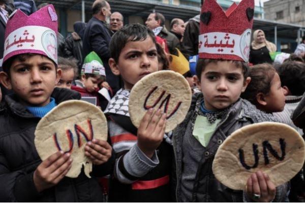 PBB Belum Dapat Dana Baru Bagi Pengungsi Palestina