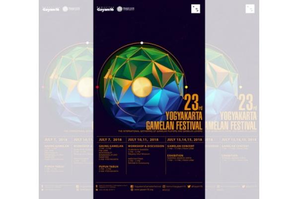 Yogyakarta Gamelan Festival ke-23 Digelar