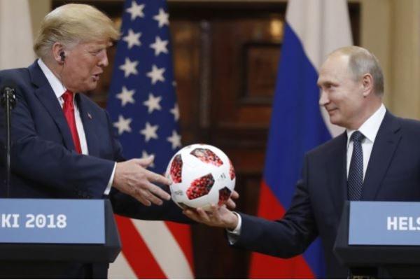 Hadapi Kritik Bipartisan, Trump: Rusia-AS Harus Akur