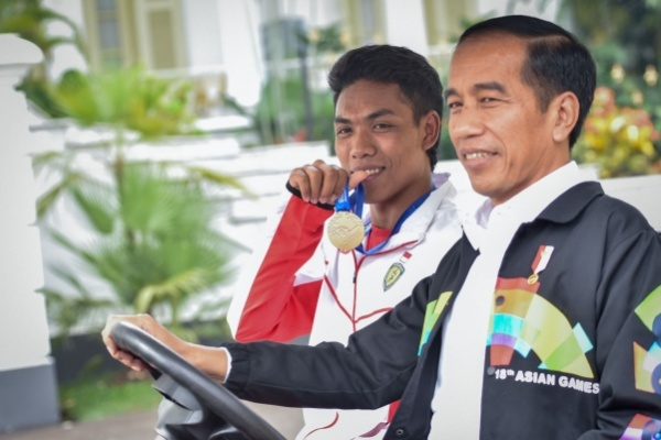 Presiden Berharap Muncul Superstar Baru Seperti Zohri