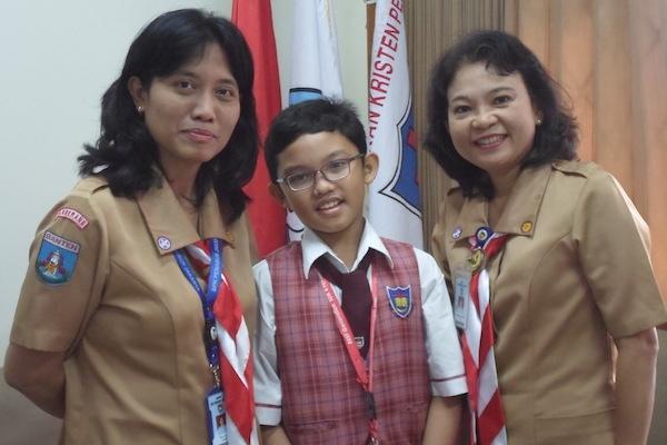 Jesreel Sigalingging, Siswa SDK 4 Penabur Peraih Medali Emas OSN 2018
