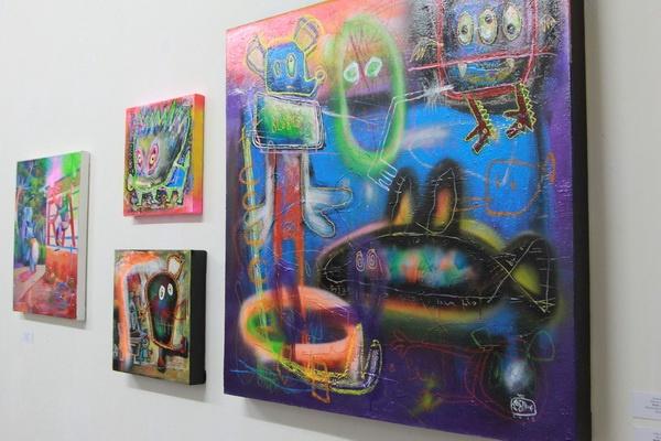 "Fundraising Jogja International Miniprint Biennale dalam Pameran ""Art Collective"""