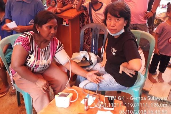 Gempa-Tsunami Palu: Tim GKI Pelayanan di Sigi