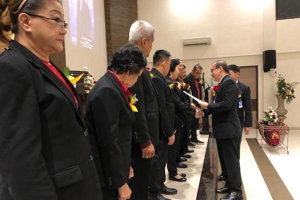 Pengurus Baru BPK PENABUR Sukabumi Dilantik