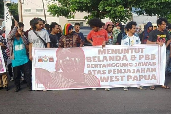 FRI-WP Tuntut Belanda dan PBB Bertanggung Jawab atas Papua