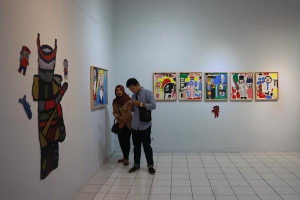 Bentara Budaya Yogyakarta Pamerkan Karya Putri Pertiwi