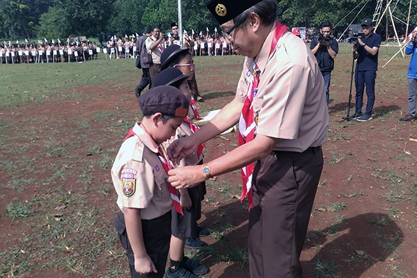 2.023 Pelajar SDK PENABUR Ikuti Jambore Pramuka Penggalang