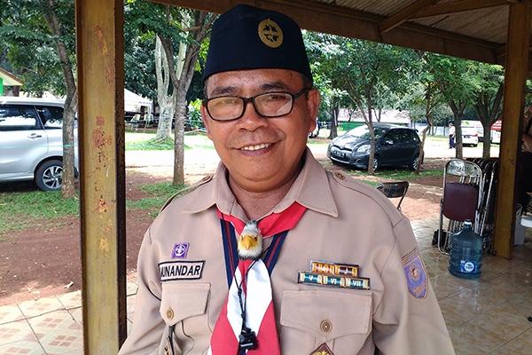 Kepala Pusdiklatda Jakarta Salut Gerakan Pramuka BPK PENABUR