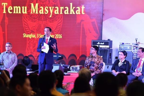 Jokowi Minta WNI di Tiongkok Kampanyekan Pariwisata RI