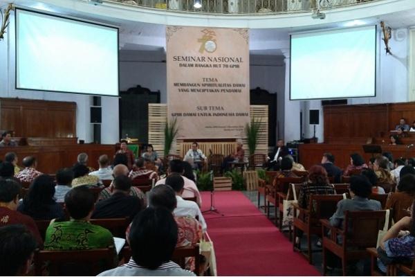 HUT ke-70, GPIB Hadirkan Damai untuk Indonesia