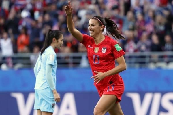 Piala Dunia Wanita FIFA 2019: Alex Morgan, Striker AS Magnet Sponsor