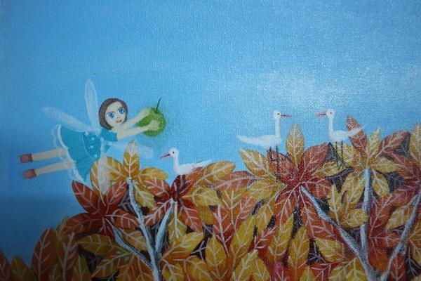 "Lima Seniman-Perupa ""Ngunduh Panenan"" di Kembang Jati Art House"