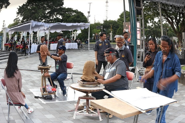 Jogja Street Sculpture Project #3-2019 Dibuka