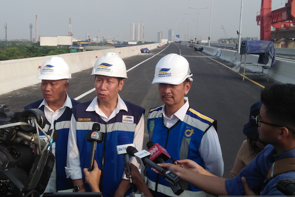 Menyongsong Jembatan Terpanjang Tol Jakarta Cikampek