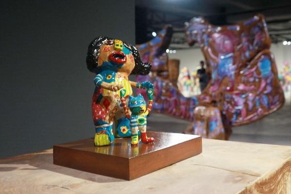 Impresi Patung-patung Mini Ekwan Marianto