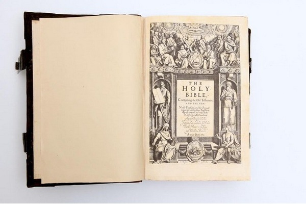 Edisi Langka King James Bible Dipamerkan di King Faisal Center Riyadh