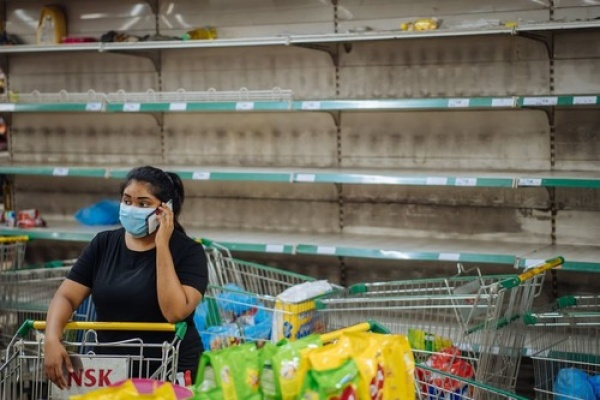 Panic Buying di Kuala Lumpur Pascapengumuman Lockdown