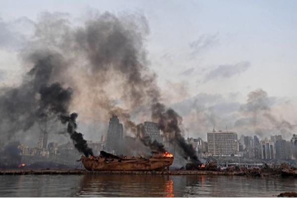 PM Lebanon Serukan Bantuan Asing Menyusul Ledakan di Pelabuhan Beirut