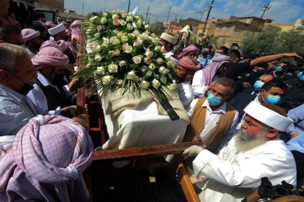 Pemimpin Spiritual Yazidi, Irak, Dikenal sebagai Pria Perdamaian, Meningal Dunia