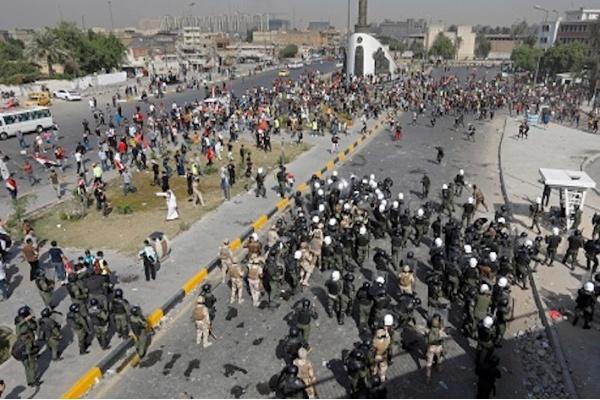 Irak: Ribuan Warga Peringati Setahun Protes Anti Pemerintah
