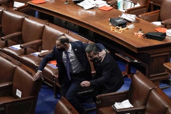 Serangan Pendukung Trump ke Gedung Capitol AS